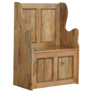 Cool Details About Monks Bench Pew Style Storage Seat Caraccident5 Cool Chair Designs And Ideas Caraccident5Info