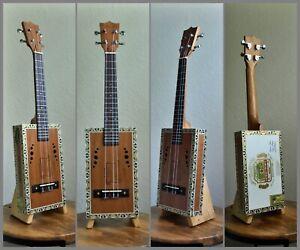 Cigar-Box-Tenor-Ukulele-034-Arturo-Fuente-Cigar-Box-034-Acoustic-amp-Electric
