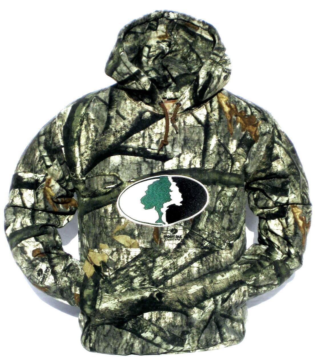 Cabela para hombre Peso Pesado Mossy Oak's Treestand Camo capas de caza con Capucha