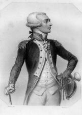 LES GIRONDINS / Lafayette . signée Raffet 1848