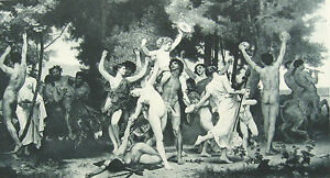 Orgy of bacchus