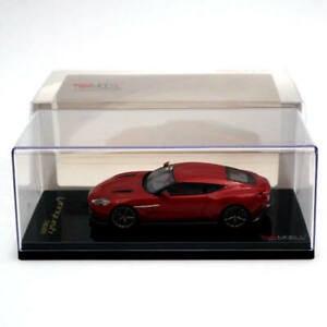 Tsm Models 1 43 Aston Martin Vanquish Zagato 2017 Red Limited Edition Collection Ebay