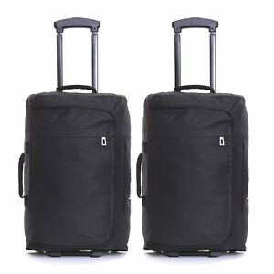 ec21ce8c4 Set of 2 Ryanair Wheeled Carry On Cabin Flight Luggage Suitcases ...