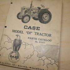 Case Di Series Tractor Parts Manual Book Catalog List Spare Farm Vintage D257