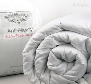 Luxury Soft High Quality Hypoallergenic Pollycotton Bed Duvet Quilt 15 TOG