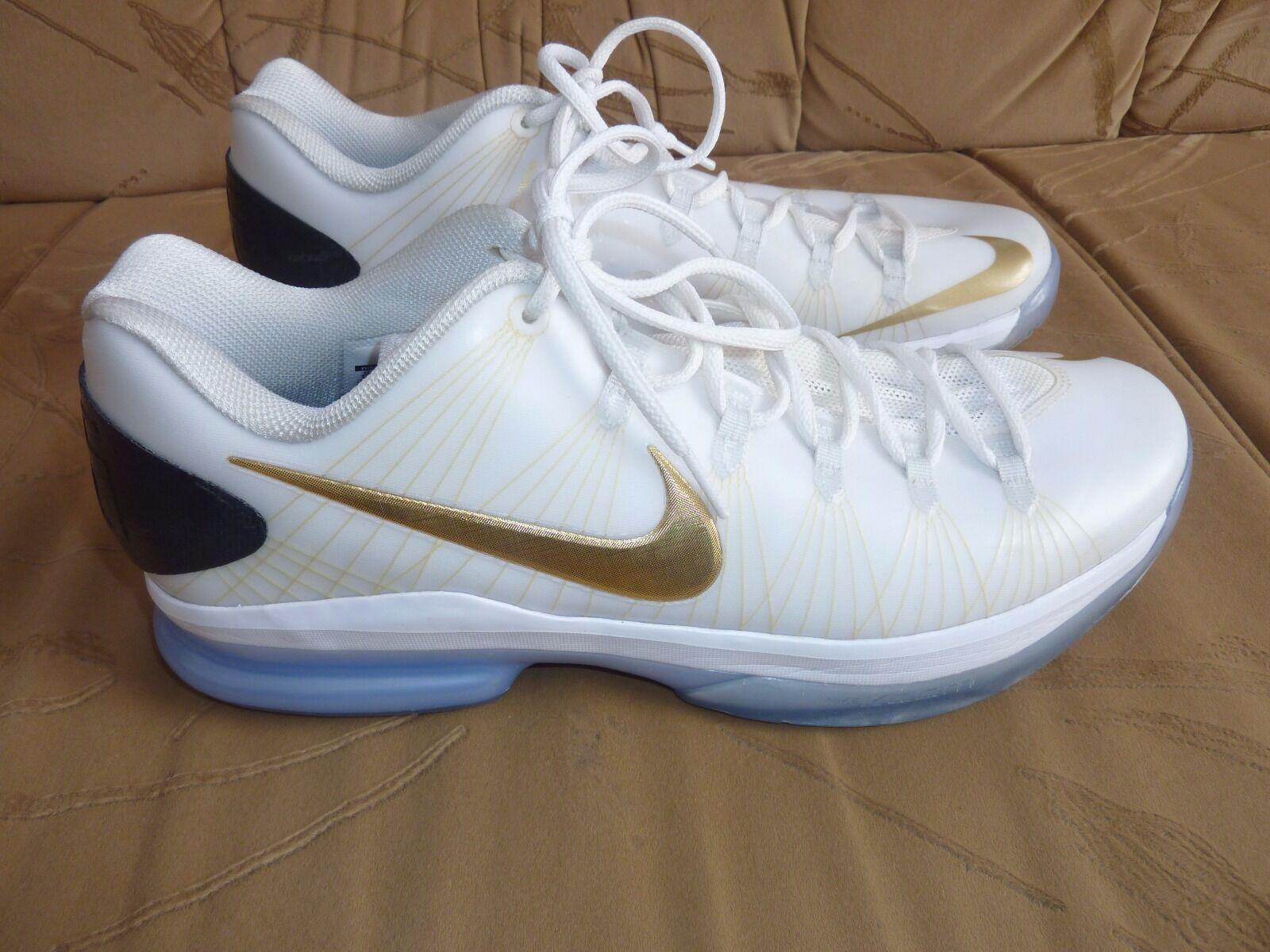 Nike KD V Elite Kevin Durant Metallic Gold Basketball Herren Gr. 45,5