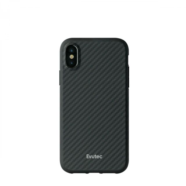 cheap for discount 18ebb 87dda Case Evutec AER Karbon With Afix Vent Mount for Apple iPhone X