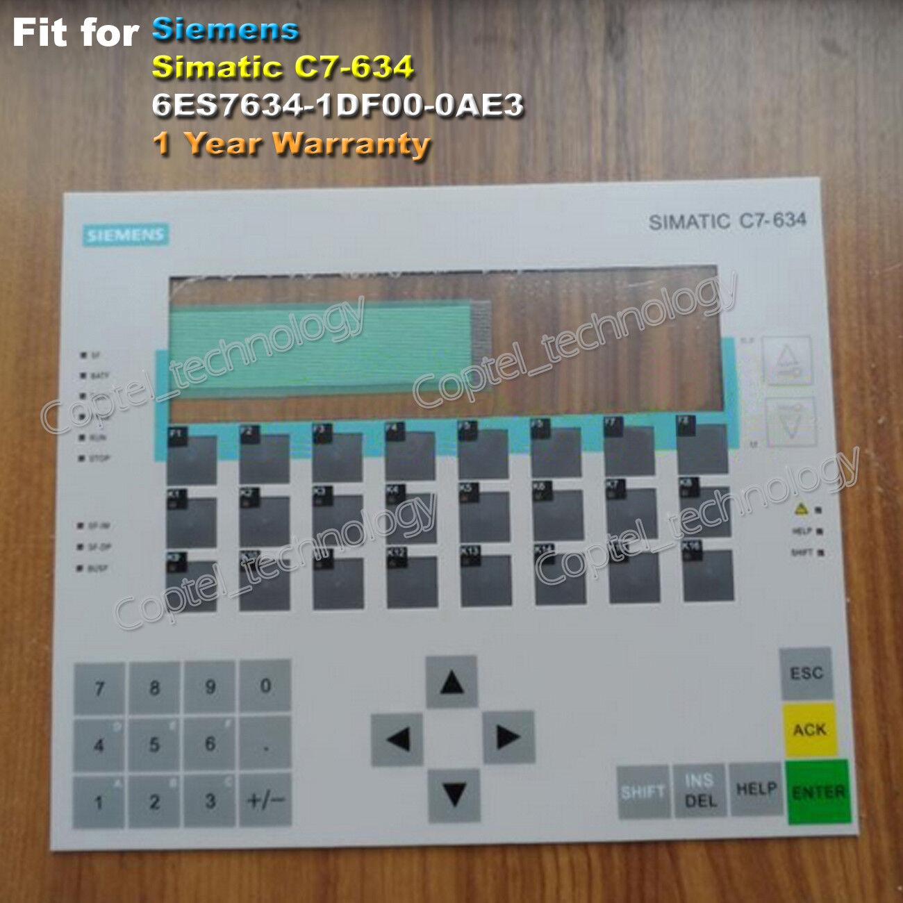 For SIEMENS C7-634 6ES7634-1DF00-0AE3 C7-634 6ES7-634-1DF00-0AE3 Membrane Keypad