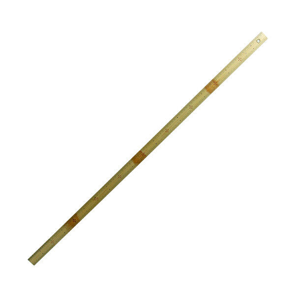 SHINWA Bamboo Rule Japanese Ruler Scale Measure with Hole 1m 100cm 1000mm 71773
