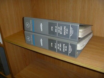 2004-2005 Mercedes Benz C230 C240 C320 C32 AMG Electrical ...