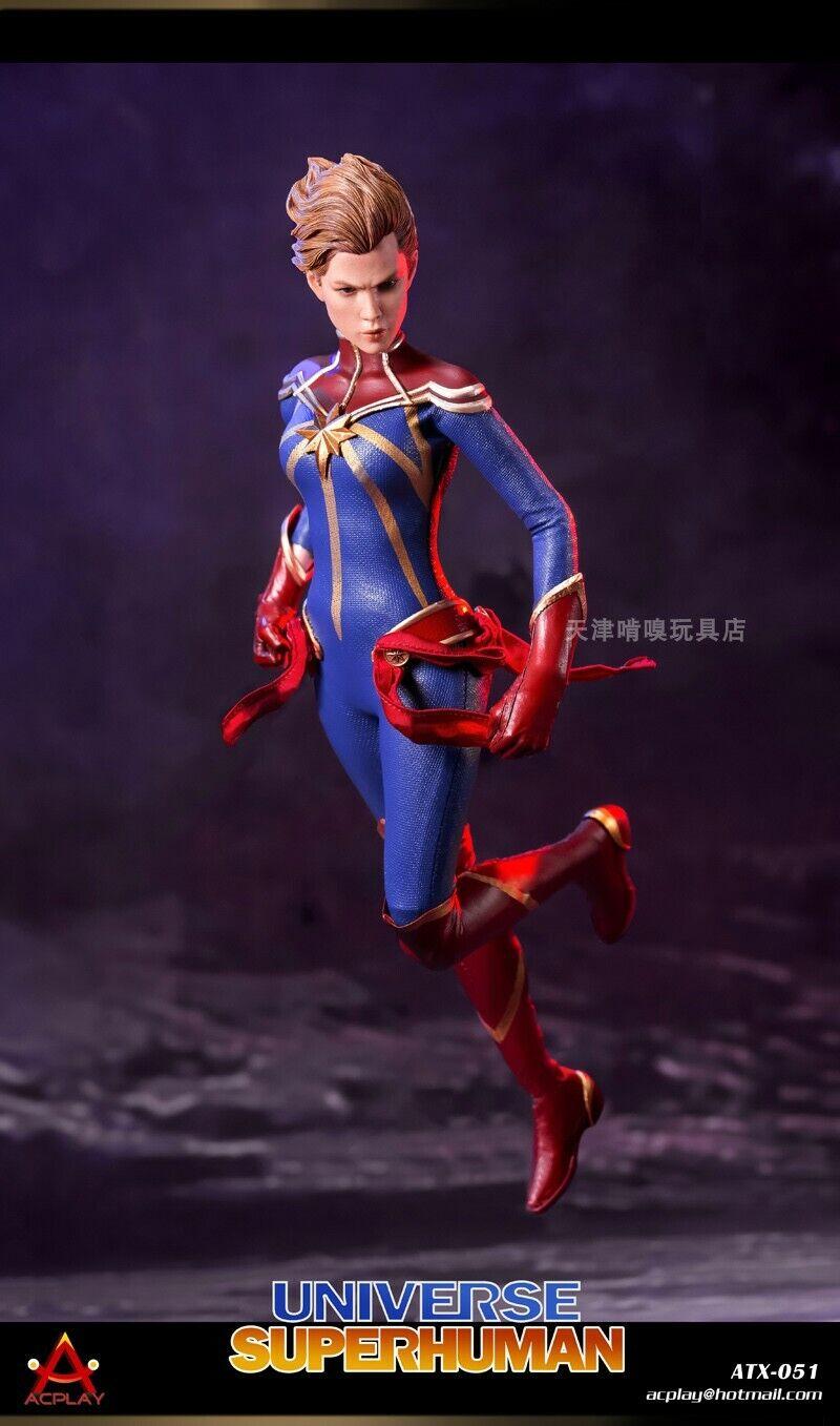 ACPLAY ATX051 1 6 Scale Cosmic Superman Double-Headed Sculpt Female Figure Toys