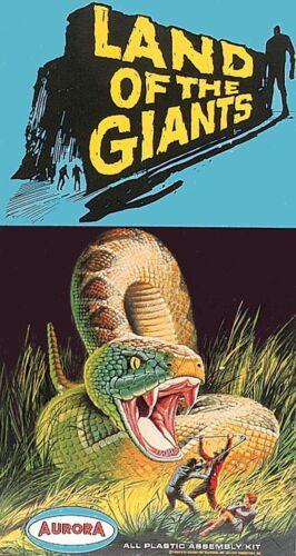 Aurora Land Of The Giants Giant Snake 60/'s-70/'s Model Box Sticker or Magnet