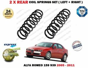 FOR ALFA ROMEO 159 939 1.9 2.2 2.4 JTS JTDM 2005-2011 2X REAR COIL SPRINGS SET