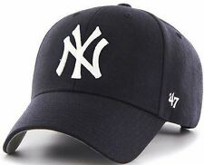 NEW YORK YANKEES '47 Brand MVP HAT Adult HOME Adjustable Cap