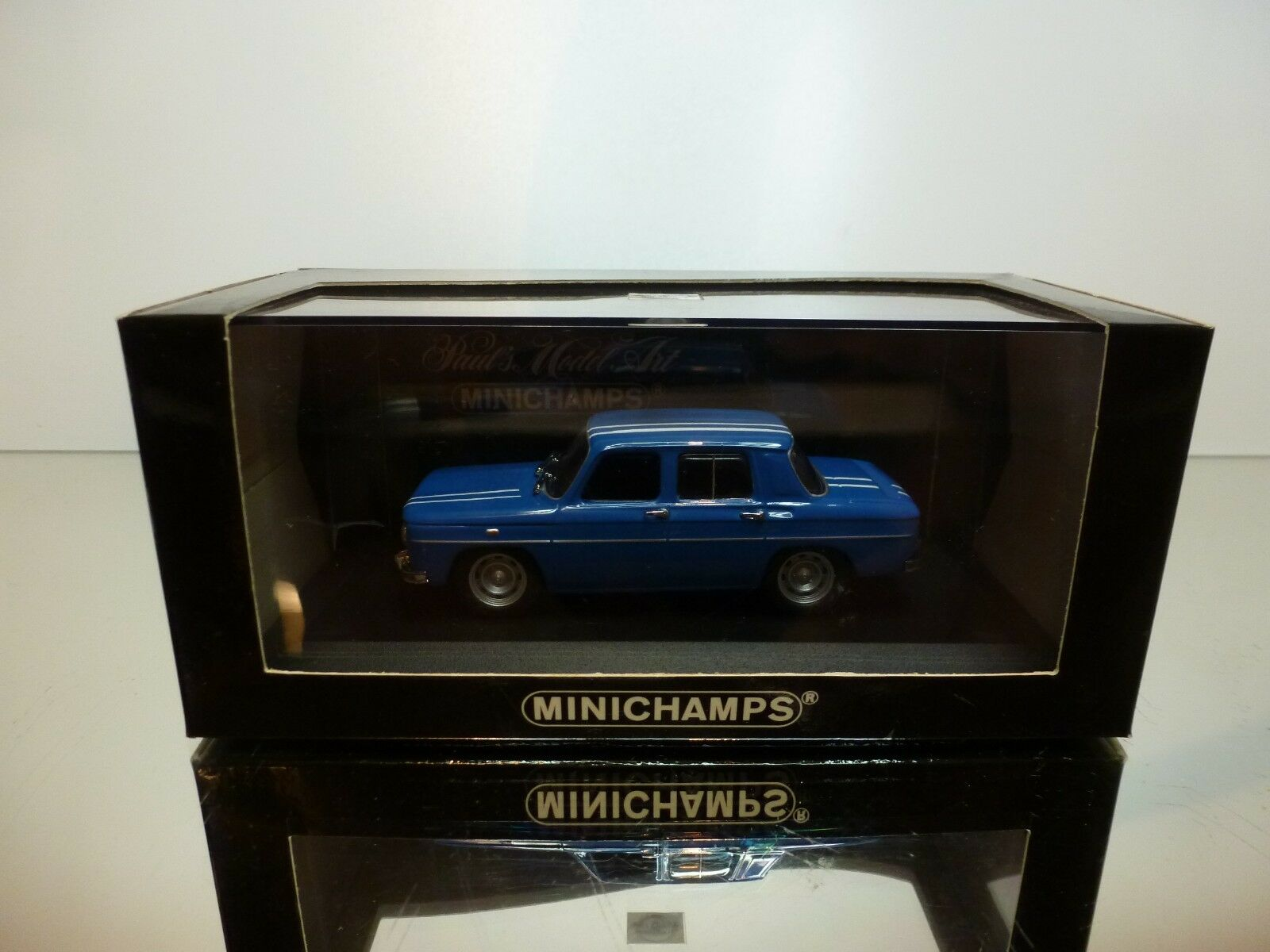 MINICHAMPS 113550 RENAULT R8 GORDINI 1964-1968 - blueE 1 43 - EXCELLENT IN BOX