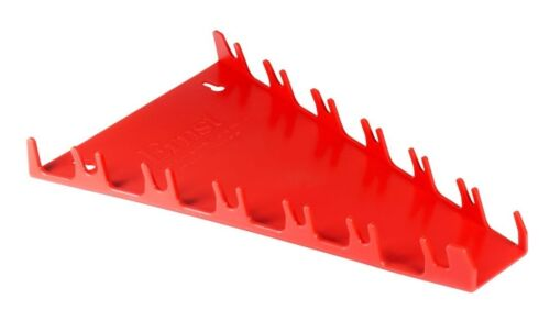 ERNST 5090  12 Screwdriver Organizer Tray for Toolbox or Wall Storage RED