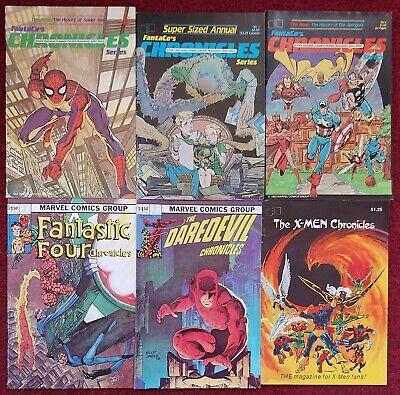 The Fantastic Four Chronicles Comic Book FantaCo 1982 NEAR MINT NEW UNREAD
