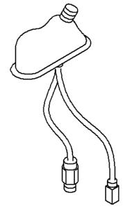 93859790 VAUXHALL Antenna Base NUOVO-ORIGINALE