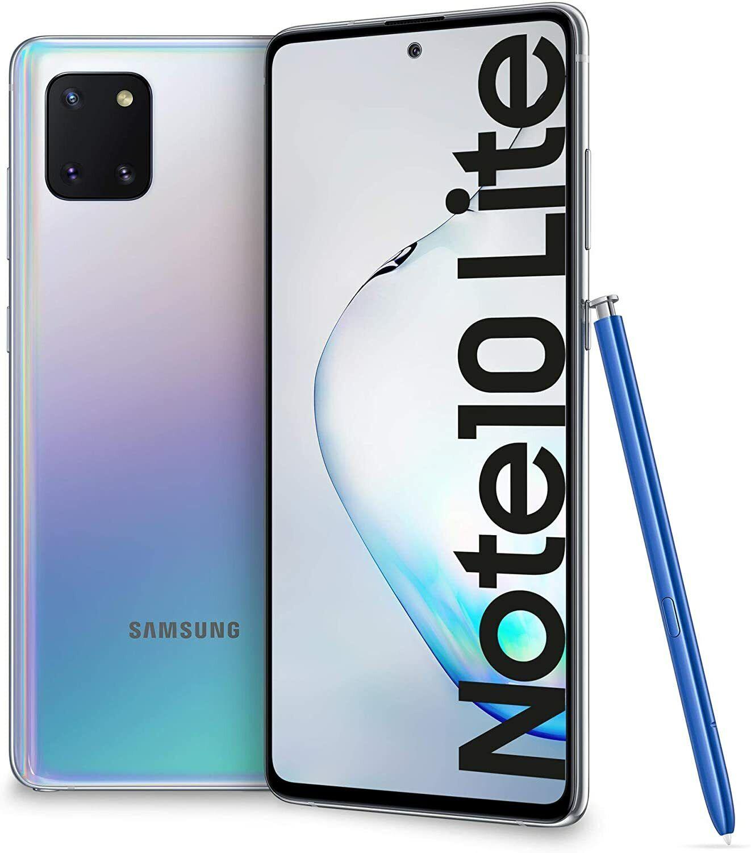 Samsung Galaxy: Smartphone Samsung Galaxy Note 10 Lite Dual SIM 6GB/128GB SM-N770 Silver Argento