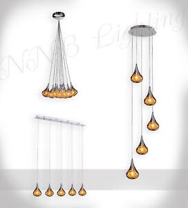 pendelleuchte gold draht im glas inkl leuchtmittel pendant drop h ngel ster ebay. Black Bedroom Furniture Sets. Home Design Ideas
