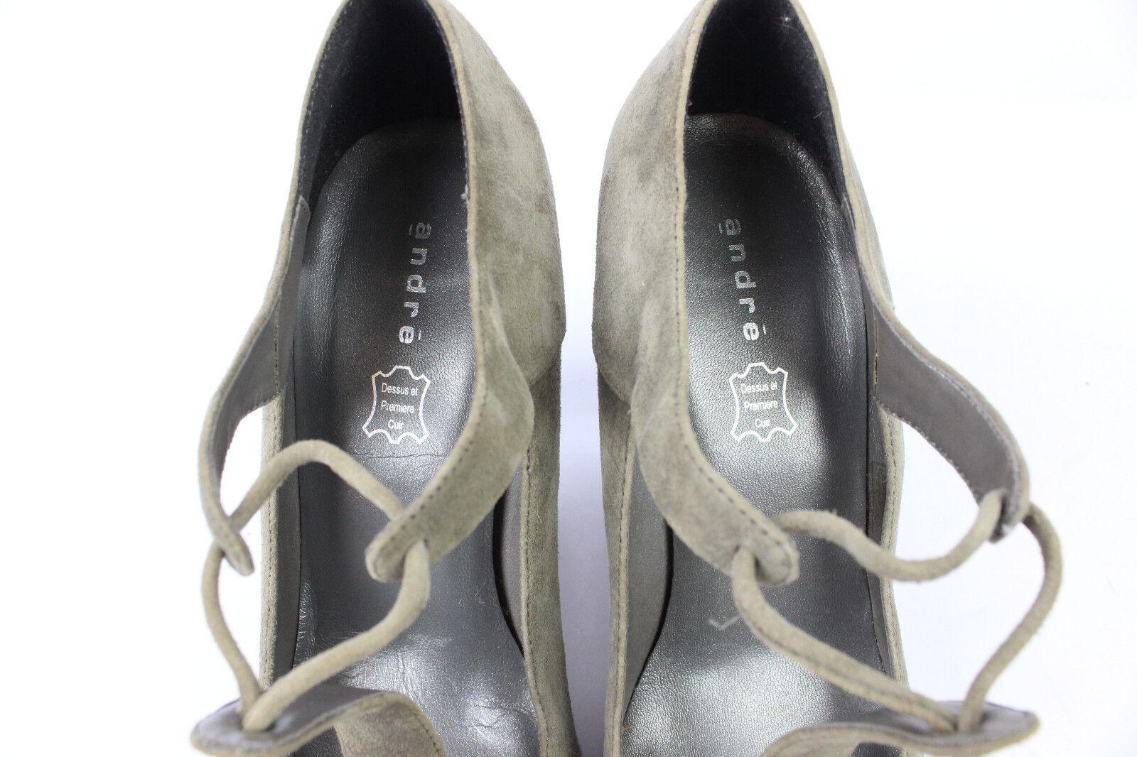 Court shoes Now ANDRE Suede Gabardine T 40 40 40 MINT 96d694