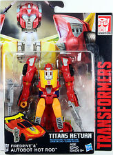 Transformers Titans Return Wave 3 Deluxe Class Hot Rod Loose Figure Hasbro 2017