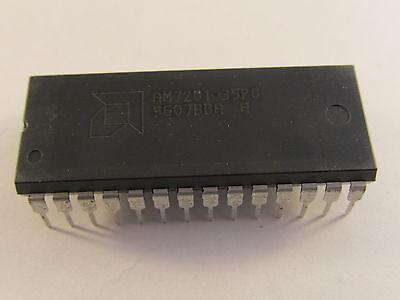 2x AM7201-25PC 512x9bit CMOS FIFO memory AMD