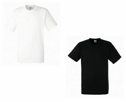 Men/'s FOTL Heavyweight Cotton T shirts 5 Pack White Black T-Shirts Tee Top