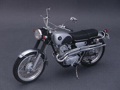 1/10 Ebbro Honda Cl72 1962-nero/argento - 1/12 - 10010 - 142049-