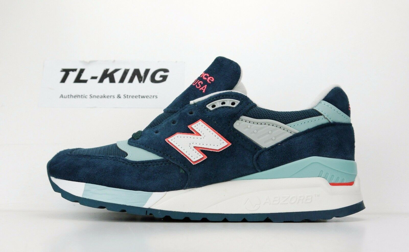 ny balans W998CHT blå Tornado Storm kvinnor Made in USA Limited Msrp  180 KK