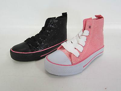 Spot on Mädchen Gitter Leinen hoch TOP Pumps- Stil H4093 schwarz oder pink