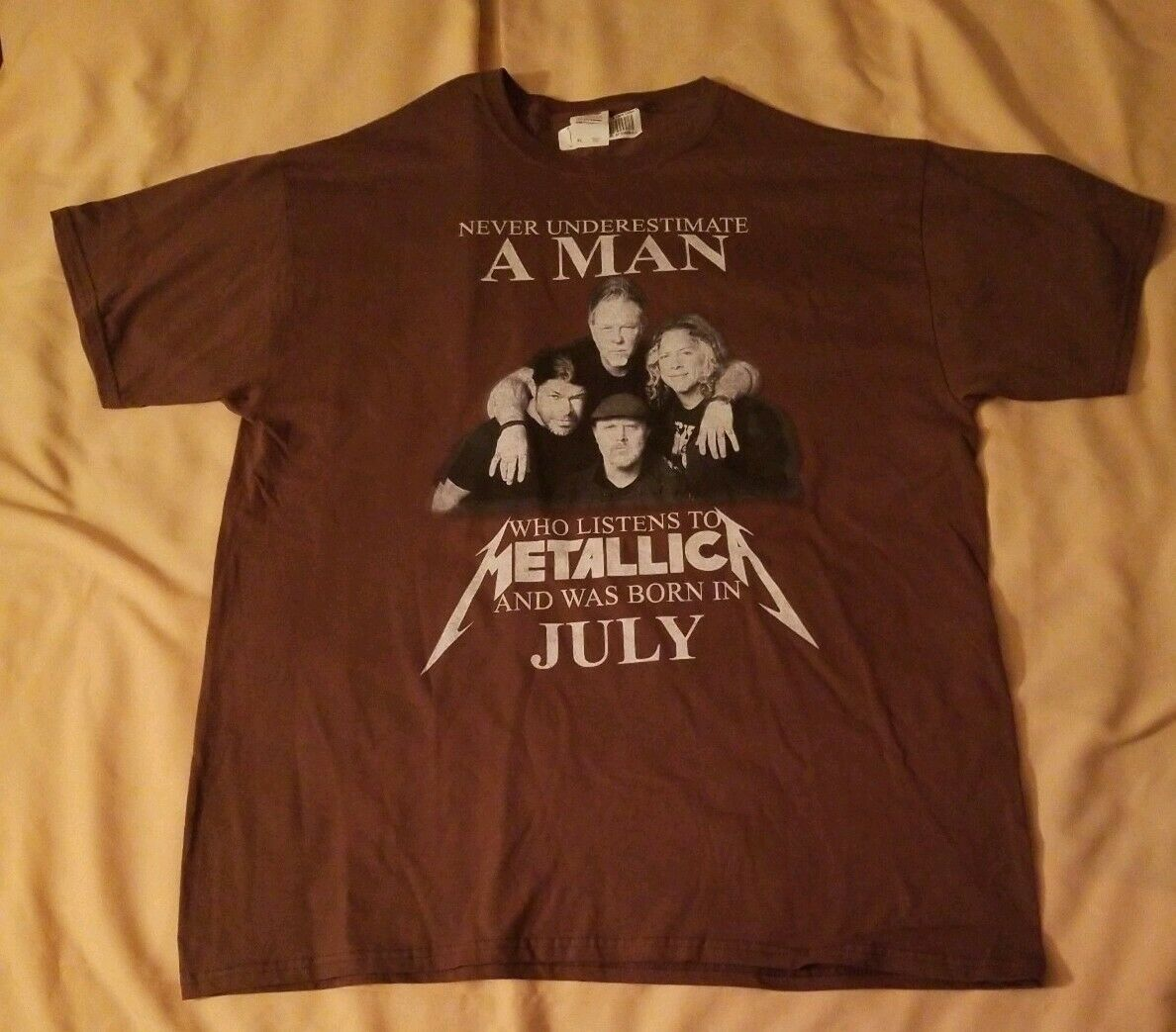 Never Underestimate MAN Who Listens to Metallica … - image 2