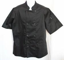 Newchef Fashion Inc Black Chef Jacket Long Sleeve Unisex Size Large
