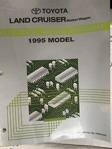 1995 Toyota Land Cruiser Electrical Wiring Diagrams ...