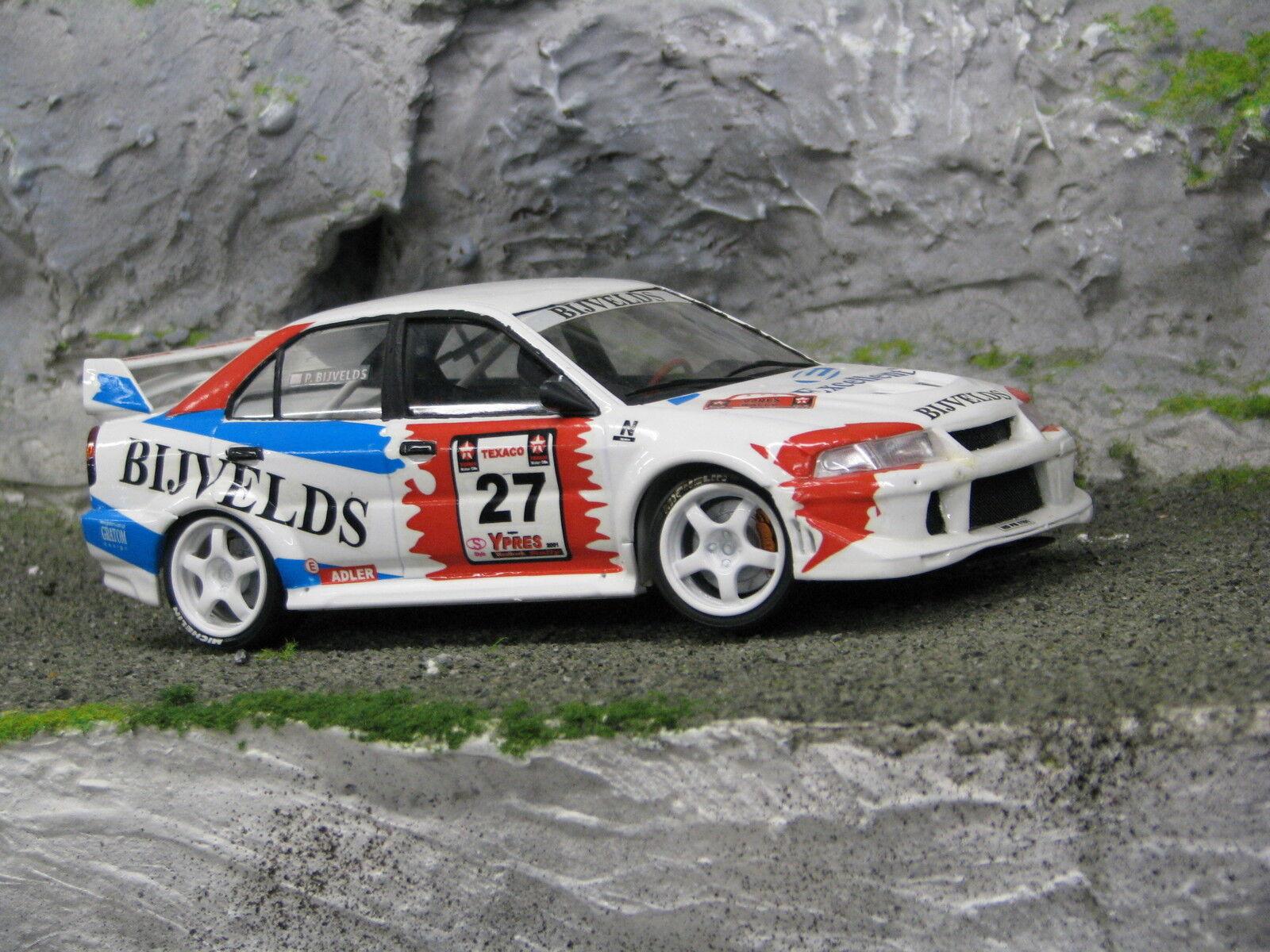 QSP Mitsubishi Mitsubishi Mitsubishi Lancer Evo Vl 1 24  27 Bijvelds   Bijvelds Ypres Rally 2001 84c328