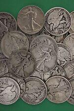 MAKE OFFER 1 Troy Pound Walking Liberty Half Dollars Junk 90% Silver Coins