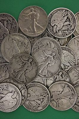 Junk Coins 12 Halves Included Bullion MAKE OFFER 1 TROY Pound 90/% Silver U.S