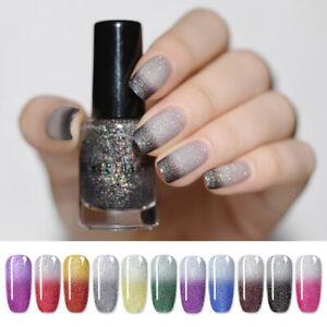 NICOLE-DIARY-6ml-Holographic-Nail-Polish-Thermal-Nail-Art-Varnish-Water-Based
