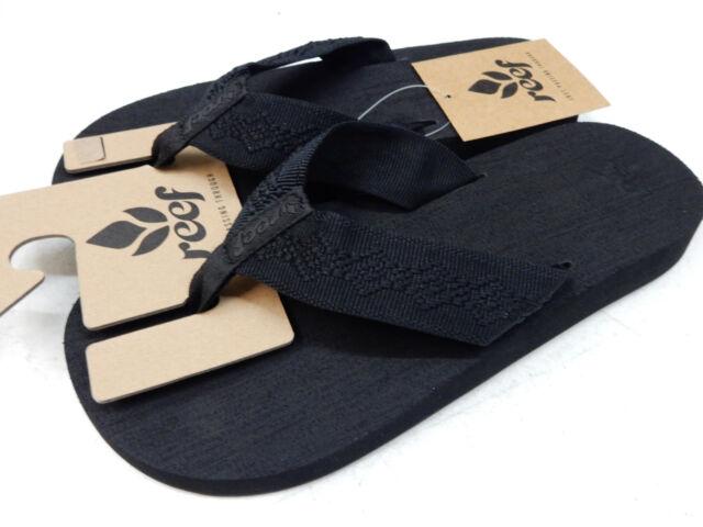 8d4087975b0b Reef Womens Sandy Flip Flop Slippers Black Size 8 for sale online