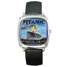 TITANIC POSTER SQUARE WRISTWATCH **SUPERB GIFT ITEM**