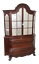 Antique-Dutch-Marquetry-Bookcase-Display-Cabinet-Great-TV-Cabinet thumbnail 1