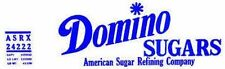 DOMINO SUGAR CAR SELF ADHESIVE STICKER for American Flyer Trains