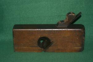 Great-User-Antique-Vintage-Auburn-Tool-Co-2-034-Skew-Rabbet-Moulding-Plane-Inv-KB02