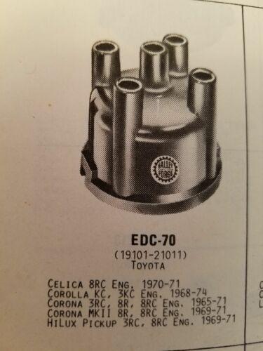 Valley Forge Distributor Cap EDC70 NOS