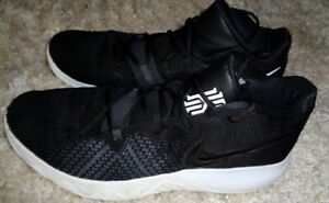 Details about Nike Kyrie Irving Flytrap Black White AA7071-001 Basketball  Shoes Men's Size 13