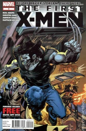 First X-Men #2A VF 2012 Stock Image