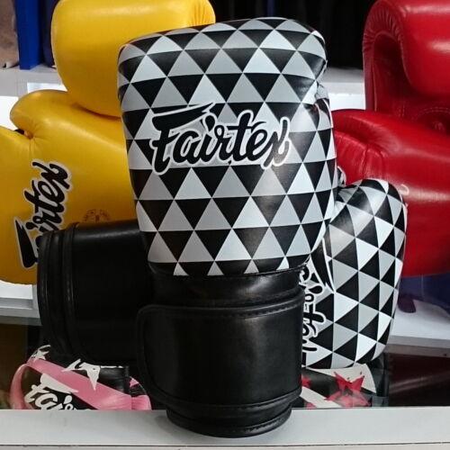 PRISM 1964 MMA PUNCH SPORT FAIRTEX MUAY THAI KICK BOXING GLOVES BGV14B OP ART