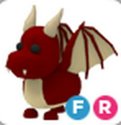 Roblox Adopt Me Legendary Dragon Flyable Rideable Fast