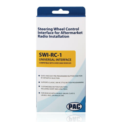 PAC SWI-RC-1 Steering Wheel Control Interface Adapter for Chrysler Dodge Jeep