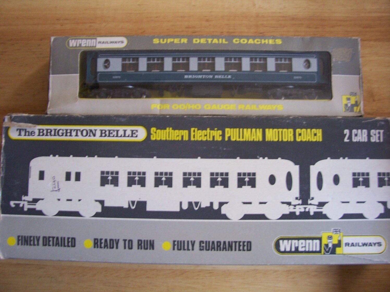 Wrenn W30045 BR blugrigio Pulluomo Brighton Belle Set  W6004A bianca Tables